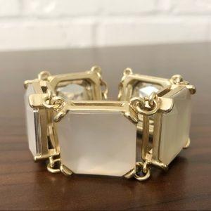 Jewelry - Light Pink & Gold Toggle Bracelet